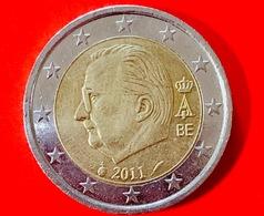 BELGIO - 2011 - Moneta - Effige Del Re Alberto II Del Belgio - Euro - 2.00 - Belgio