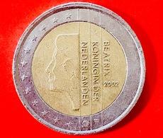 "PAESI BASSI - 2002 - Moneta - Effigie Della Regina Beatrice - ""Beatrix Koningin Der Nederlanden"" - Euro - 2.00 - Paesi Bassi"
