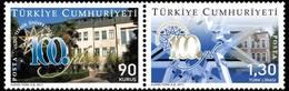 AC - TURKEY STAMP  -  100th YEAR OF YILDIZ TECHNICAL UNIVERSITY MNH 22 AUGUST 2011 - Nuevos