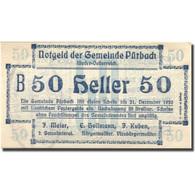 Billet, Autriche, Pürbach, 50 Heller, Valeur Faciale, 1920 SPL Mehl:FS 793IIb - Austria