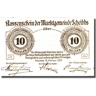 Billet, Autriche, Scheibbs, 10 Heller, Valeur Faciale, 1920 SPL Mehl:FS 957Ia - Austria