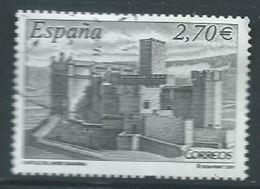 ESPAGNE SPANIEN SPAIN ESPAÑA  2009 CASTLES: CASTILLO SAN JAVIER USED ED 4511 YT 4154 MI 4449 SG 4470 SC 3669 - 2001-10 Used
