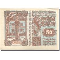 Billet, Autriche, Ysper, 50 Heller, Monument 1921-03-31, SPL  Mehl:FS 1261b - Austria