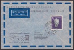 Pfarrer Paul Schneider 40+20 Pf. Theologe Deutsche Lufthansa Wismut - Bergbau, Montan, Karl-Marx-Stadt - Berlin, DDR 608 - DDR