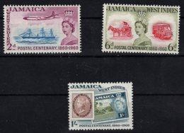 Jamaica, 1960, SG 178 - 180, Complete Set Of 3, Mint Hinged - Jamaïque (...-1961)