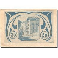 Billet, Autriche, Schardenberg, 20 Heller, Manoir, 1920 SUP Mehl:FS 954c - Austria