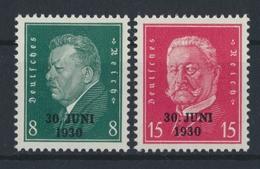 Deutsches Reich, MiNr. 444-445, Postfrisch / MNH - Allemagne