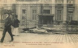 NANTES - Manifestations Du 14 Juin 1903 - Place De La Préfecture Après La Manif. - Nantes