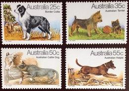 Australia 1980 Dogs 4 Values MNH - Dogs