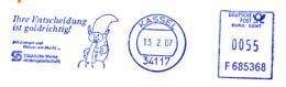 Freistempel 1777 Eichhörnchen - [7] West-Duitsland
