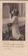 RELIGION---image Pieuse---(  AGEN  Chapelle Des Filles De Marie Le 4 Mai 1933 )--voir 2 Scans - Images Religieuses
