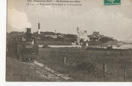 SAINT PALAIS SUR MER  -  St Palais Sur Mer  -  La Ligne Du Tram Entre Terre-Nègre Et La Grande-Côte - Saint-Palais-sur-Mer
