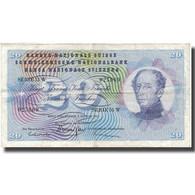 Billet, Suisse, 20 Franken, 1967, 1967-01-01, KM:46n, TB+ - Suisse