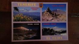 Tenerife - Le Teide - Multivues - Tenerife