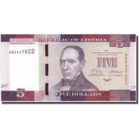 Billet, Liberia, 5 Dollars, 2016, 2016, NEUF - Liberia