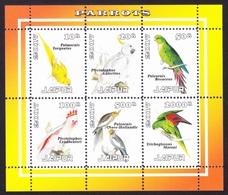 PARROTS / PERROQUETS - Jaipur 2017 / Private Issue - MNH - Birds