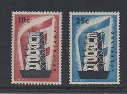 EUR 1956 Pays-Bas La Paire Des Timbres Europa ** MNH Cote 75€ - Europa-CEPT