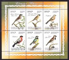 BIRDS / OISEAUX - Paintings Of Eleazar Albin,  Colombo 2017 / Private Issue - MNH - Birds