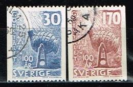 SUEDE/Oblitérés/Used/ 1958 - Centenaire Du Traité Bessemer De Traitement De L'Acier - Oblitérés