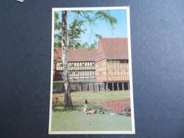 19960) (AARHUS). DEN GAMBLE BY UDSIGT MOD TOLDBODEN OG S.M. HOLST'S GARD NON VIAGGIATA - Danimarca