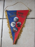 Fanion 11 Bataillon Parachutiste De Choc - Flags