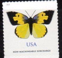 USA, 2019, MNH, INSECTS, BUTTERFLIES, 1v S/A - Butterflies