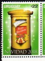 URUGUAY, 2018, MNH, CHRISTMAS, 1v - Christmas