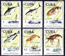 FISHING INDUSTRY / INDUSTRIE DE LA PÊCHE - Cuba 1975, Desarrollo Industria Pesquera / FDC - Fishes