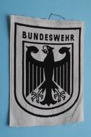 BUNDESWEHR : BADGE 13 X 9,5 Cm. ( Deutschland / Germany ) Zie Foto Voor Detail ! - Ecussons Tissu