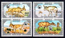 Mongolie Mongolia 1477/80 Saïga - Stamps