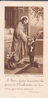 RELIGION---image Pieuse---( Saint-hilaire Sur Garonne Le 15 Août 1942 )--voir 2 Scans - Images Religieuses