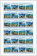Sint Maarten 2018  Sheetlets  MNH Ocean Life Turtle Fish - Turtles