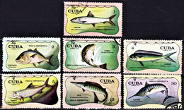 SPORT FISHING / PÊCHE SPORTIVE - Cuba 1971, Pesca Desportiva / FDC - Fishes