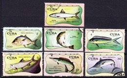 SPORT FISHING / PÊCHE SPORTIVE - Cuba 1971, Pesca Desportiva / FDC - Stamps
