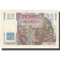 France, 50 Francs, Chateaubriand, 1946, 1946-03-14, TTB, Fayette:20.1, KM:127a - 1871-1952 Gedurende De XXste In Omloop