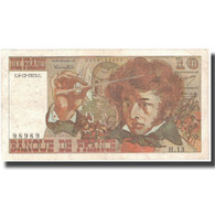 France, 10 Francs, Berlioz, 1973, 1973-12-06, TB+, Fayette:63.2, KM:150a - 1962-1997 ''Francs''