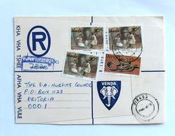 Africa  Venda Registered Cover 1982 - Venda