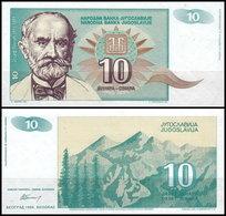 Yugoslavia - 10 Dinar 1994 UNC - Joegoslavië
