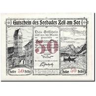 Billet, Autriche, Seebades Zell Am See, 50 Heller, Château, 1920, 1920-06-01 - Austria