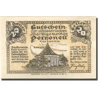 Billet, Autriche, Petroneu, 20 Heller, Château 1920-12-31, SPL,  Mehl:FS 737a - Austria
