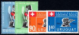 Uruguay 1962 Centenary Of Swiss Settlers Unmounted Mint. - Uruguay