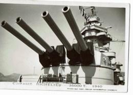 Marine Militaire Francaise Cuirasse Richelieu - Warships