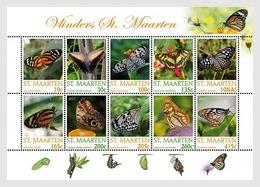 Sint Maarten 2017  Sheetlets  MNH Butterflies Papillons Butterfly Papillon - Butterflies