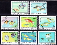 VIET NAM - 1968, Local Fish, Fauna / Fdc - Complete Séries - Stamps