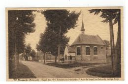 Maaseik (Aldeneik) Kapel Der HH. Relindis En Herlindis   Aan De Kapel Het Bekende Heilige Putje - Maaseik