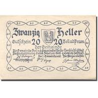 Billet, Autriche, Zell An Der Pram, 20 Heller, Maison, 1920 SPL Mehl:FS 1271a - Austria