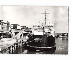 76 Dieppe Le Lisieux à Quai Bateau Paquebot CPSM GF Edit Estel N°55167 Photo - Dieppe