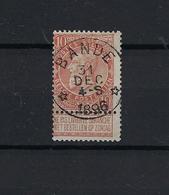 N°57 (ntz) GESTEMPELD *Bande* 1896 COBA € 8,00 - 1893-1907 Armoiries