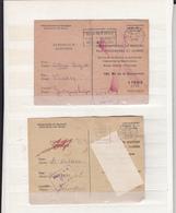 2 Documents   Secours Aux Prisonniers De Guerre  1943     2 Scan - WW II