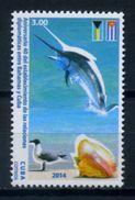 Cuba 2014 / Birds Fish Shells MNH Fische Vögel Aves Peces Caracolas / C8323   30-48 - Pájaros